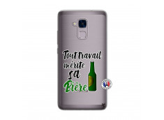 Coque Huawei Honor 5C Tout Travail Merite Sa Biere