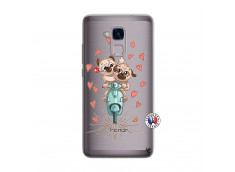 Coque Huawei Honor 5C Puppies Love