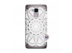 Coque Huawei Honor 5C White Mandala