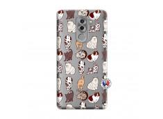 Coque Huawei Honor 6X Cat Pattern