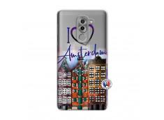 Coque Huawei Honor 6X I Love Amsterdam