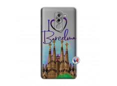 Coque Huawei Honor 6X I Love Barcelona