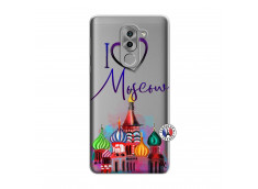 Coque Huawei Honor 6X I Love Moscow
