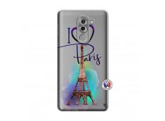 Coque Huawei Honor 6X I Love Paris