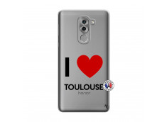 Coque Huawei Honor 6X I Love Toulouse