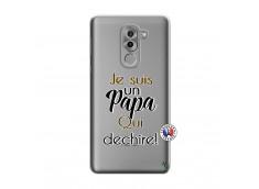 Coque Huawei Honor 6X Je Suis Un Papa Qui Dechire