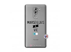 Coque Huawei Honor 6X Marseillais à Vie