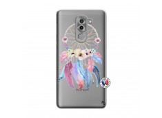 Coque Huawei Honor 6X Multicolor Watercolor Floral Dreamcatcher
