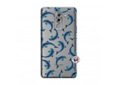Coque Huawei Honor 6X Dolphins