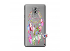 Coque Huawei Honor 6X Pink Painted Dreamcatcher