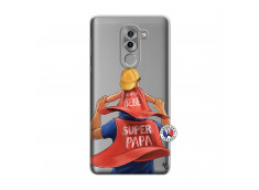 Coque Huawei Honor 6X Super Papa et Super Bébé