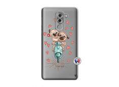 Coque Huawei Honor 6X Puppies Love