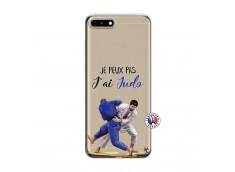 Coque Huawei Honor 7A Je peux pas j'ai Judo