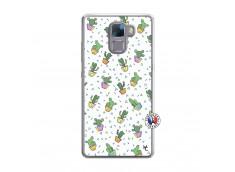 Coque Huawei Honor 7 Le Monde Entier est un Cactus Translu