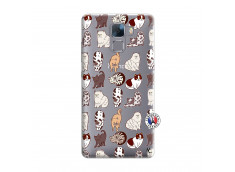 Coque Huawei Honor 7 Cat Pattern