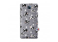 Coque Huawei Honor 7 Cow Pattern
