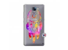 Coque Huawei Honor 7 Dreamcatcher Rainbow Feathers