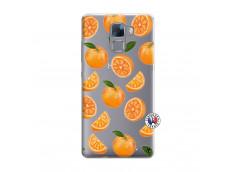 Coque Huawei Honor 7 Orange Gina