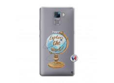 Coque Huawei Honor 7 Globe Trotter