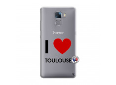 Coque Huawei Honor 7 I Love Toulouse