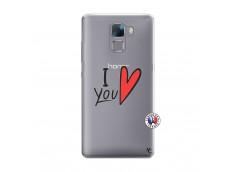 Coque Huawei Honor 7 I Love You