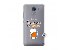 Coque Huawei Honor 7 Jamais Sans Ma Rousse
