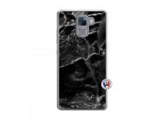 Coque Huawei Honor 7 Black Marble Translu