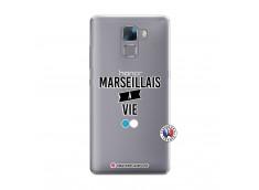 Coque Huawei Honor 7 Marseillais à Vie