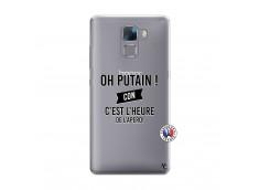 Coque Huawei Honor 7 Oh Putain C Est L Heure De L Apero