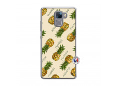 Coque Huawei Honor 7 Sorbet Ananas Translu