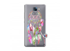 Coque Huawei Honor 7 Pink Painted Dreamcatcher