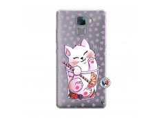 Coque Huawei Honor 7 Smoothie Cat