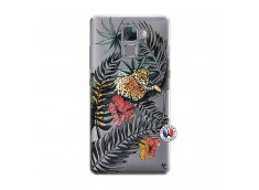 Coque Huawei Honor 7 Leopard Tree