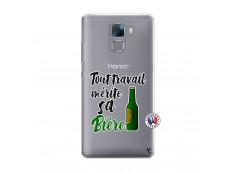 Coque Huawei Honor 7 Tout Travail Merite Sa Biere