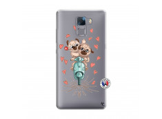 Coque Huawei Honor 7 Puppies Love