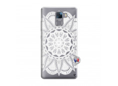Coque Huawei Honor 7 White Mandala