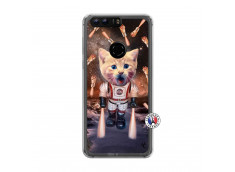 Coque Huawei Honor 8 Cat Nasa Translu