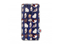 Coque Huawei Honor 8 Cat Pattern