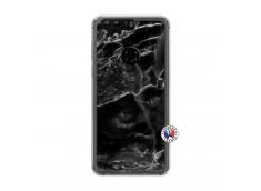 Coque Huawei Honor 8 Black Marble Translu