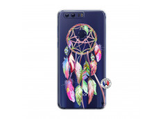 Coque Huawei Honor 8 Pink Painted Dreamcatcher