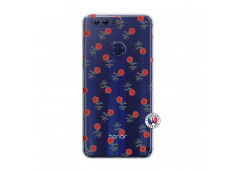 Coque Huawei Honor 8 Rose Pattern