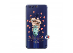 Coque Huawei Honor 8 Puppies Love