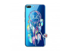 Coque Huawei Honor 9 Lite Blue Painted Dreamcatcher
