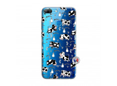 Coque Huawei Honor 9 Lite Cow Pattern