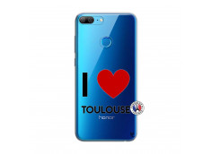 Coque Huawei Honor 9 Lite I Love Toulouse