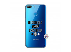 Coque Huawei Honor 9 Lite Je Dribble Comme Cristiano