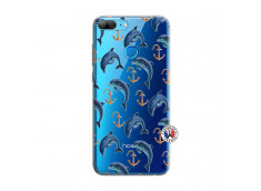 Coque Huawei Honor 9 Lite Dauphins