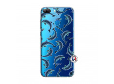Coque Huawei Honor 9 Lite Dolphins