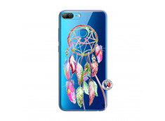 Coque Huawei Honor 9 Lite Pink Painted Dreamcatcher