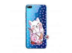 Coque Huawei Honor 9 Lite Smoothie Cat